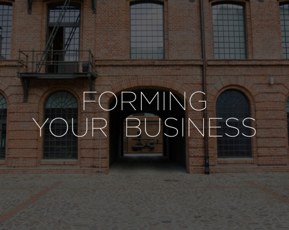 Forming Your Business