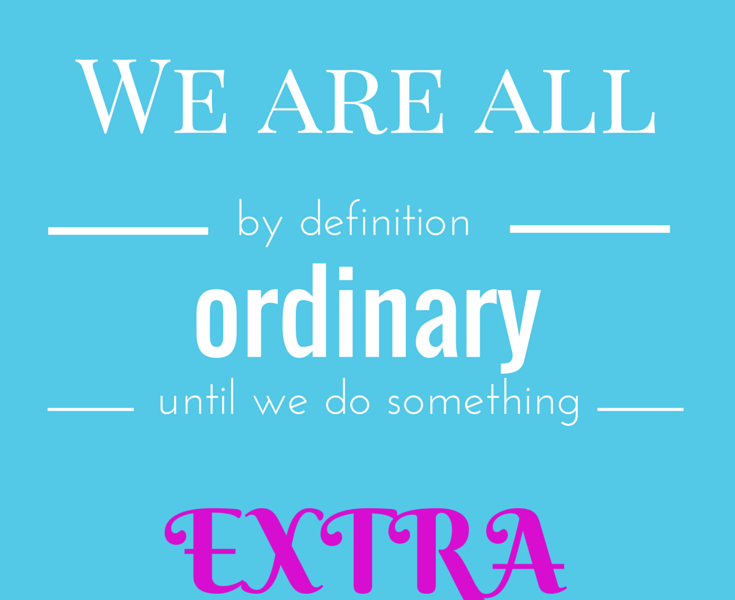 Innovation Motivation: Become Extraordinary